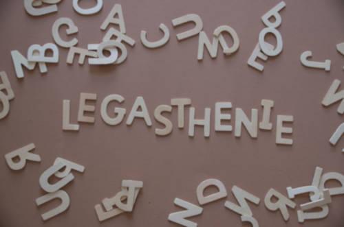 Legasthenie Buchstaben