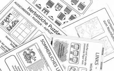 Kostenlose Materialien zur Förderung von legasthenen und dyskalkulen Kindern